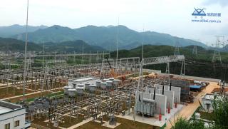 河源220千伏赤光(丰稔)变电站地网分包工程 2012年