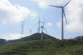 河南信阳黄柏山风电场一期防雷接地工程