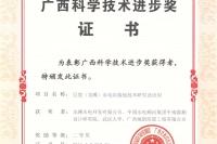 08-广西科学技术进步奖_二等奖(获奖项目:巨型(龙滩)水电站接地技术研究及应用)