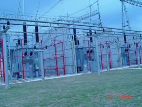 500千伏博罗工程主变电站防雷接地工程 2005年