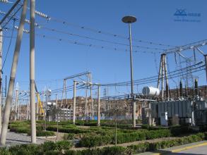 湛江220千伏亭仔输变电工程(变电站部分)接地网工程  2009年